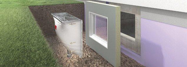 KÄFER ACO Kellerfenster