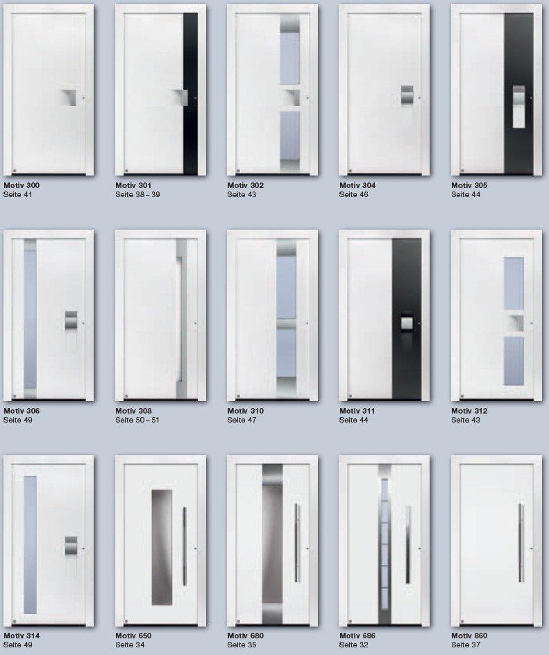 ThermoCarbon Motive Haustüren